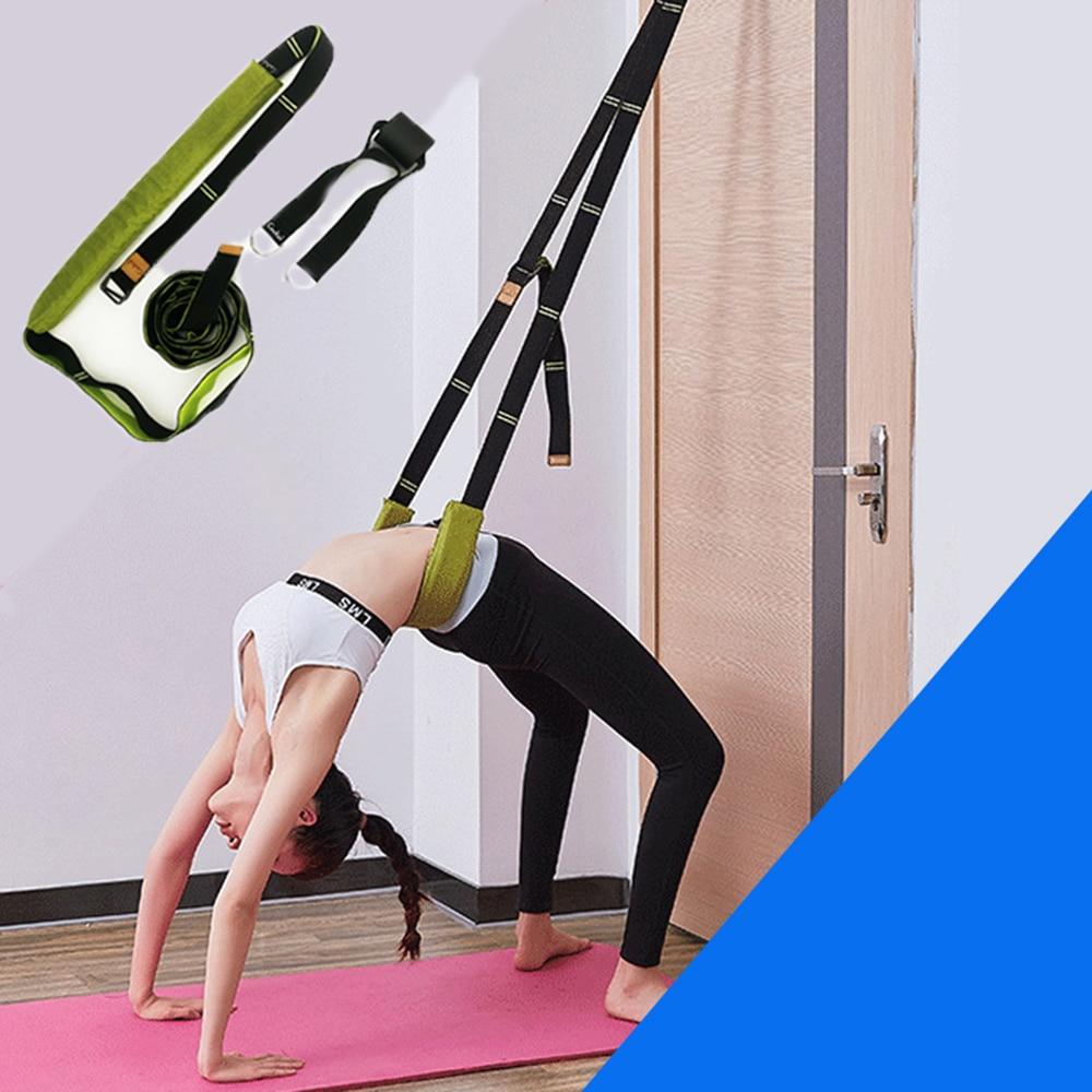 Yoga Gürtel Flexibilität Stretching Bein Bahre Strap für Ballett Cheer Dance Gymnastik Trainer Komfort Design Yoga Stretch