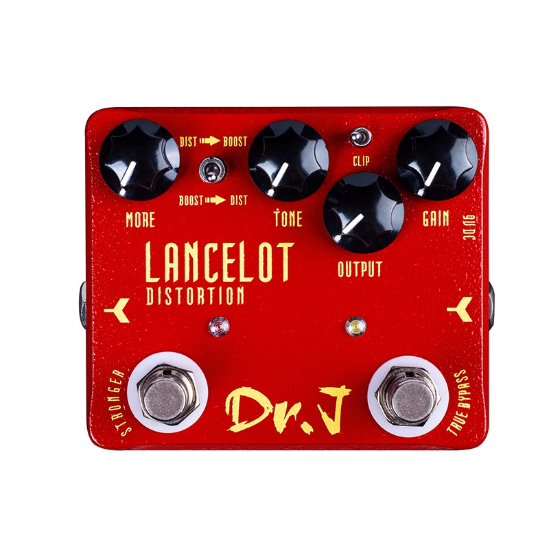 Lancelot Distortion Pedal For Electric Guitar Effect Pedals Bass Blademaster Overdrive Pedal Guitar Parts Accessories