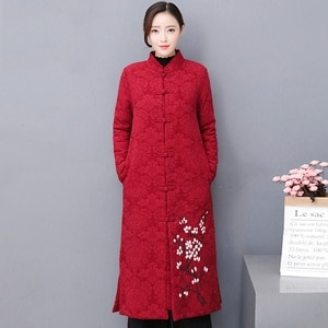 Traditional Chinese Clothing For Women Plus Size Modern Chinese Cheongsam Qipao Oriental Thick Female Winter Asian Dress FF2532