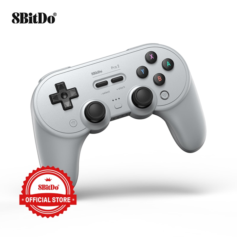 8BitDo Pro 2 Bluetooth Gamepad Controller with Joystick for Nintendo Switch, PC, macOS, Android, Ste
