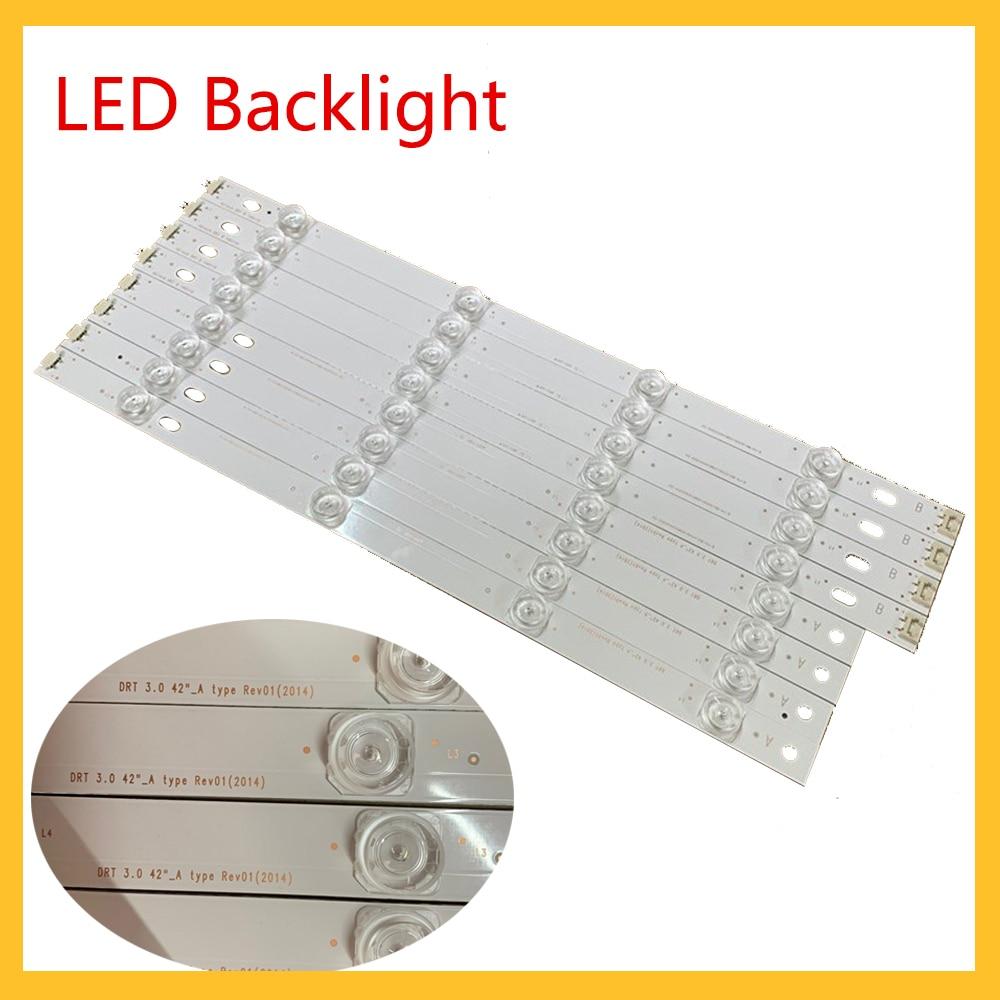 Luz LED trasera para televisor LG, luz de ambiente para televisor LG de 42 pulgadas, 42LB5610-CD, 6916L-1709A, 6916L-1710A
