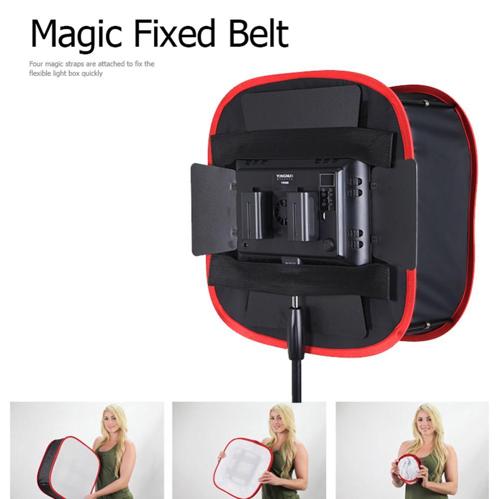 Softbox redondo portátil plegable difusor de luz de Flash iluminación de estudio de fotografía modificador para cámara Panel de luz LED