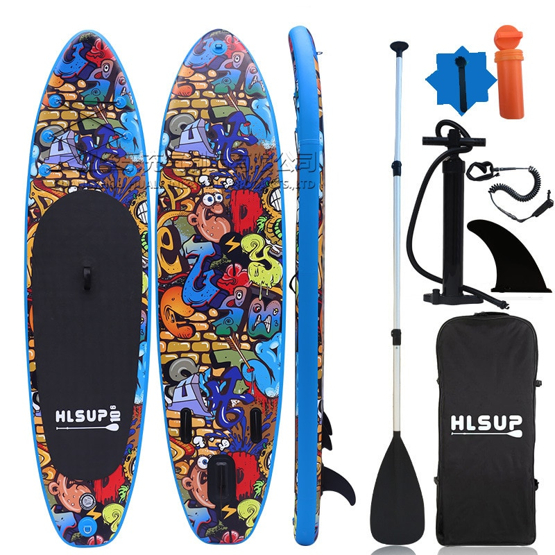 Outdoor water sup paddle board surf board adult stand-up surf board paddle board inflatable paddle board