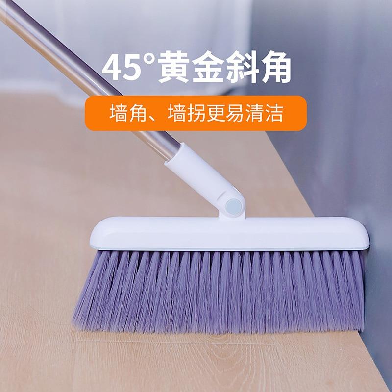 Plastic Kitchen Broom Foldable Wedding Long Handle Rotary Windproof Dustpan Carpet Set Dust Recogedor Garbage Collector ZZ50SB enlarge