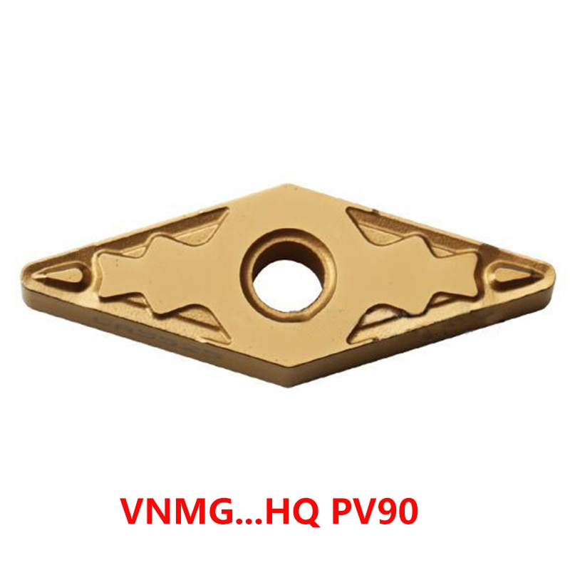 VNMG كربيد إدراج VNMG160404 HQ VNMG160408 HQ PV90 VNMG160404 VNMG160408 HQ مخرطة القاطع تحول أداة 100% الأصلي