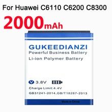 GUKEEDIANZI Phone Battery For Huawei Ascend C8810 C8650 U8650 U8860 T8500 S8520 U8861 T8260 T8600 U8655 1400mAh HB5K1H / HB5K1