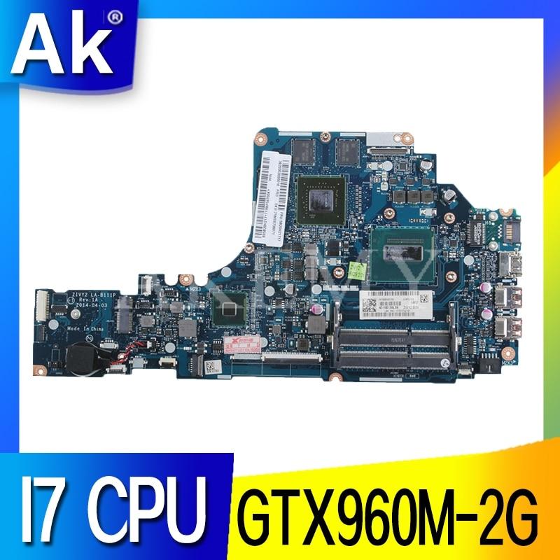 HD LA-B111P Laptop motherboard Für For Lenovo Y50-70 mainboard original I7-4720HQ/4710HQ GTX960M-2G