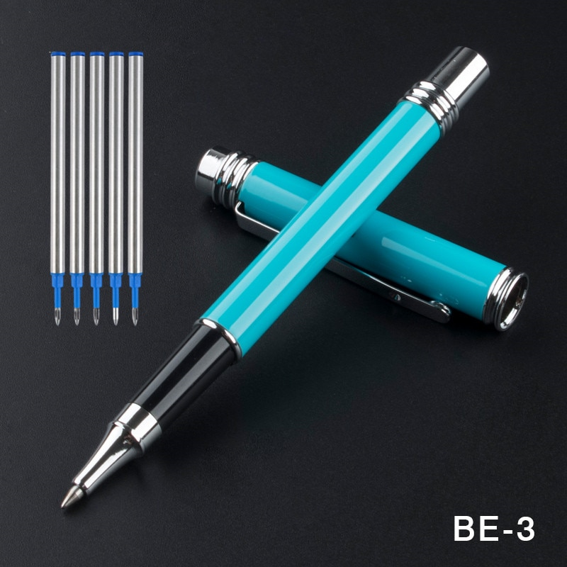 2pcs jinhao chinese two dragons playing with the pearl antique silver heavy advanced rollerball pen andfountain pen j1190 Jinhao Rollerball Pen Full metal Clip luxury pen Jinhao 0.5mm Nib Business school supplies Roller ball Pen