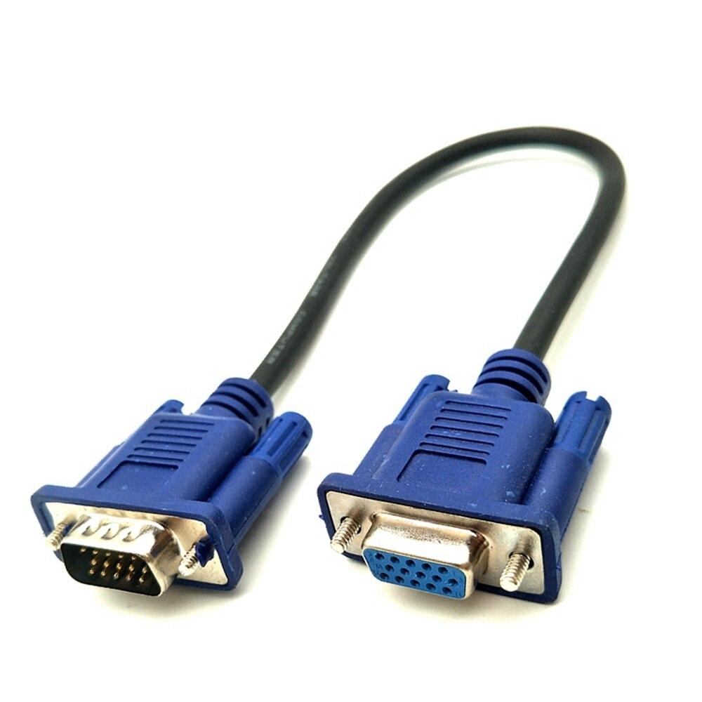 Cable de Vídeo corto VGA d-sub de 0,5 m-10m HD15Pin, macho a...