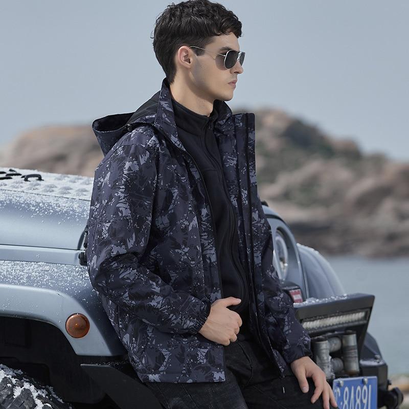 MRMT 2021 العلامة التجارية الرجال السترات معطف للذكور ثلاثة في واحد للإزالة قطعتين مجموعة أفخم سميكة مقاوم للماء تنفس
