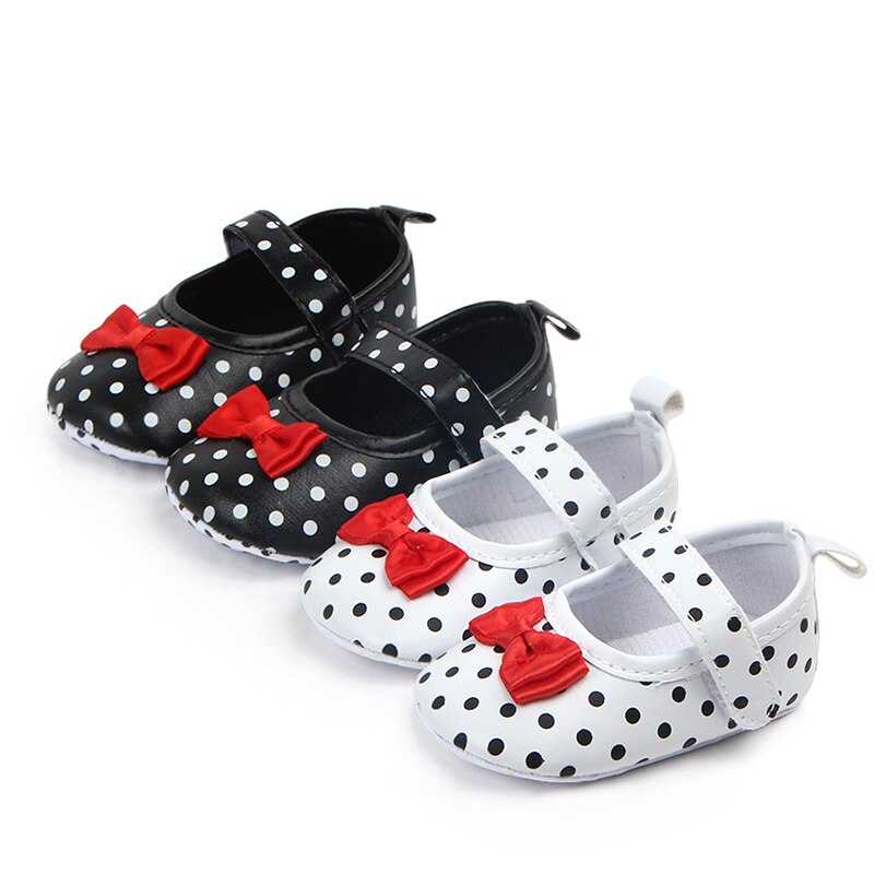 2020 The New Bow Baby Shoes Soft Sole Baby  Anti-Slip Girl Shoes