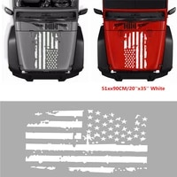 Style Sticker Truck Vinyl USA Flag UV Protected Universal 20 X35