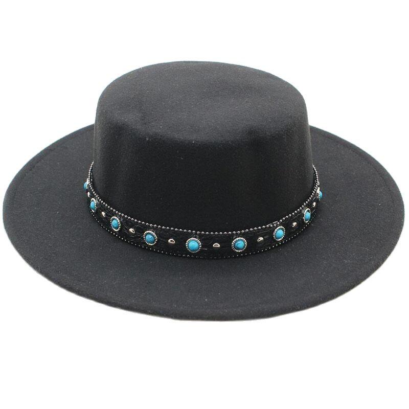 Новая Мода фетровая шляпка шерстяная женская обувь на плоской подошве