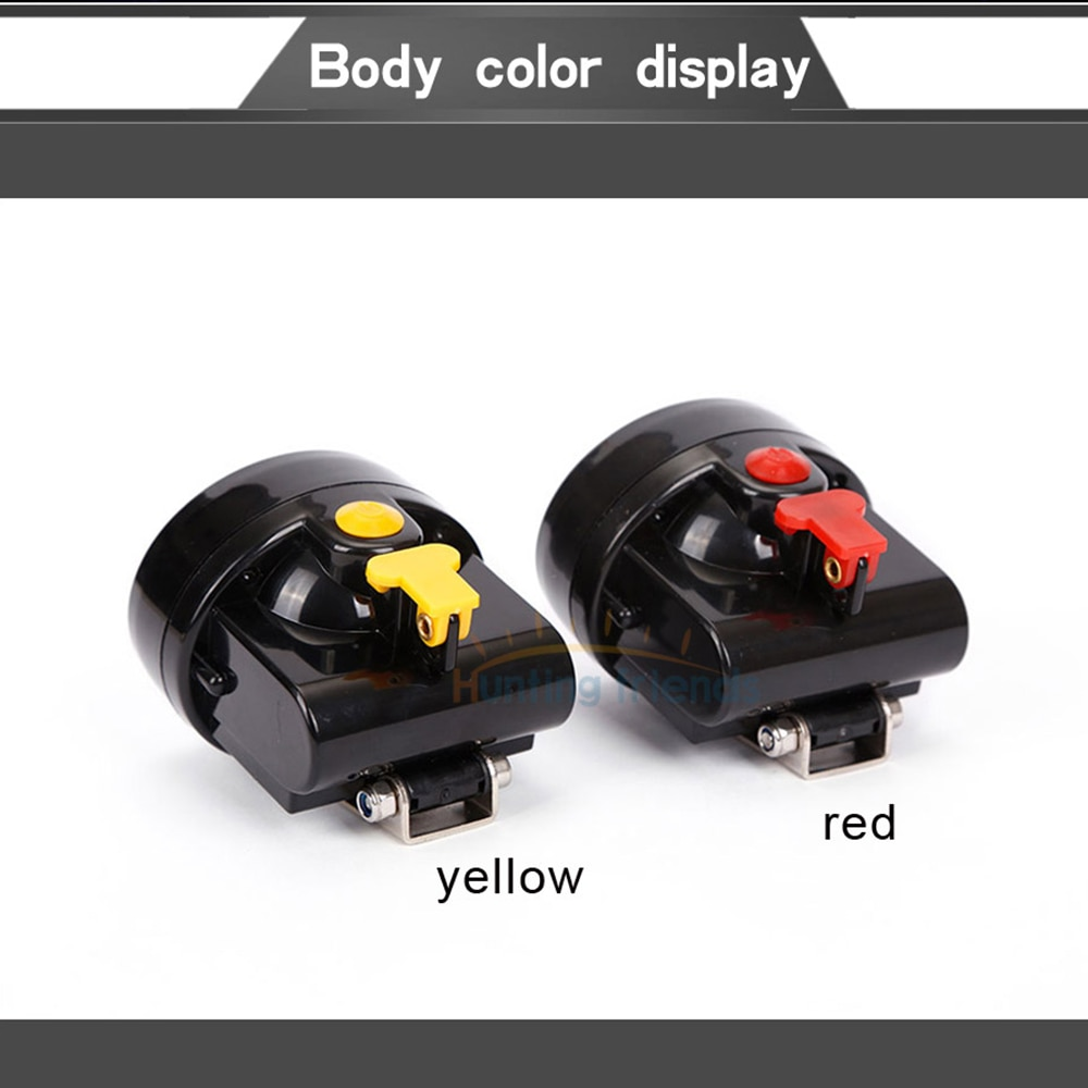 50pcs/lot Safety Mining Light KL2.8LM Rechargeable 1+6 LED Coal Miner Cap Light Waterproof Mining Headlamp Explosion Rroof Lamp enlarge