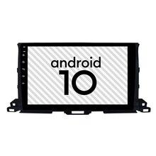 Écran antidéflagrant pour Toyota 10.0   Android 2015, gps 2.5D, Highlander, lecteur radio de 10.2 pouces, Bluetooth, navigation de voiture Internet