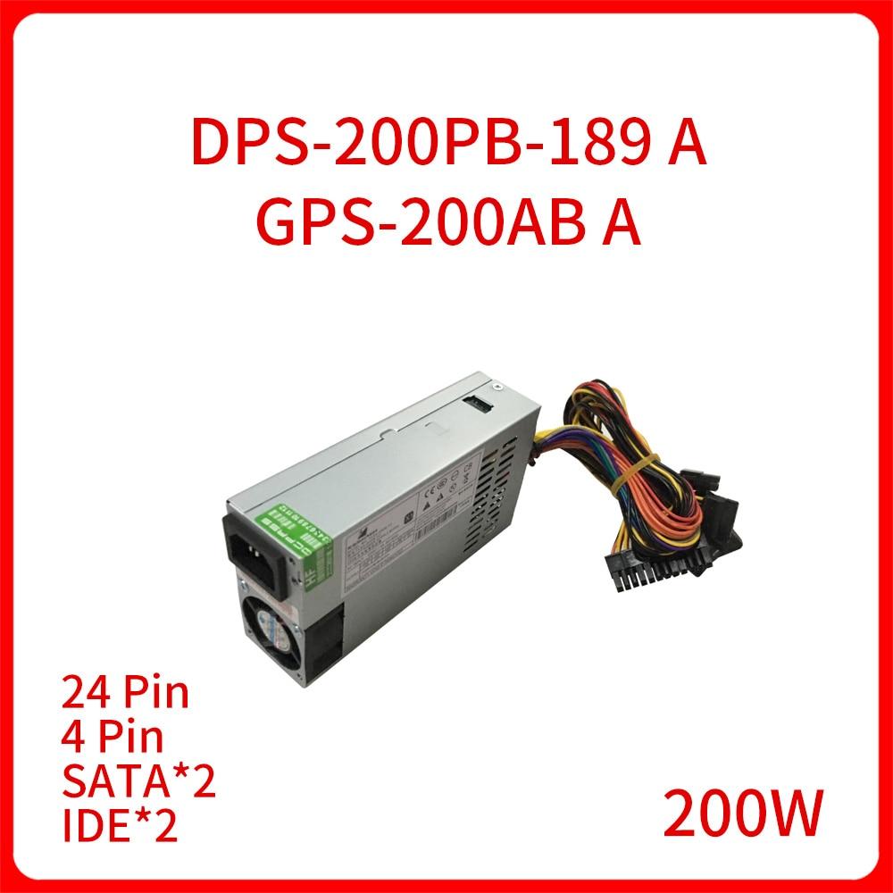 جديد الأصلي 200 واط DPS-200PB-189 GPS-200AB ألف ل الكل في واحد آلة ماكينة تسجيل المدفوعات النقدية NAS الصامت Mini 1U التبديل محول الطاقة