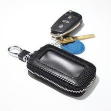 2020 Genuine Cow Leather Men & Women Car Key Bag Wallet Multi Function Key Case Fashion Housekeeper