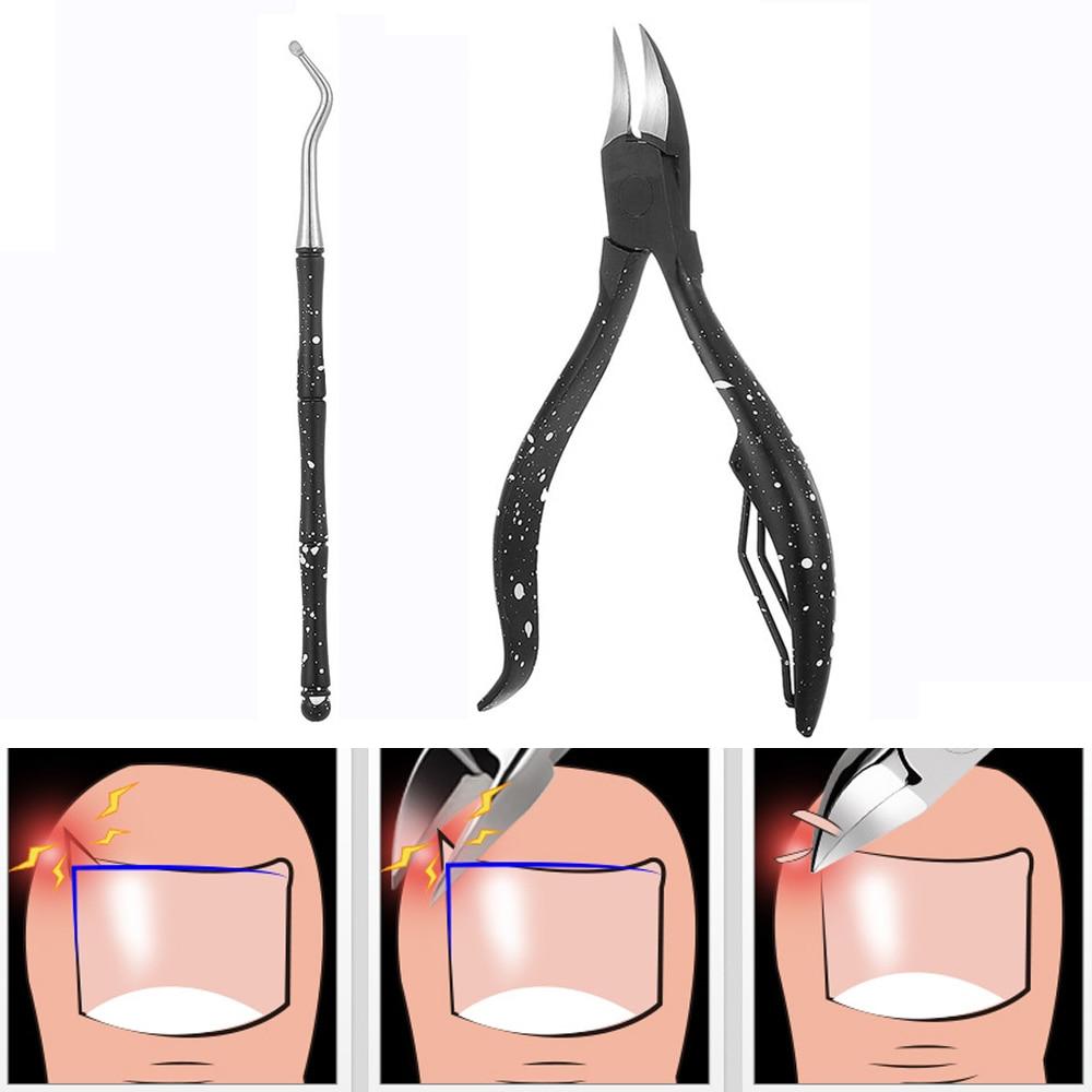 Инструмент для удаления омертвевшей кожи маникюрный кусачок вросших ногтей