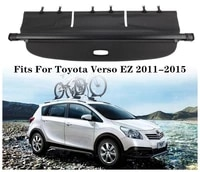 high qualit car rear trunk cargo cover security shield screen shade fits for toyota verso ez 2011 2012 2013 2014 2015
