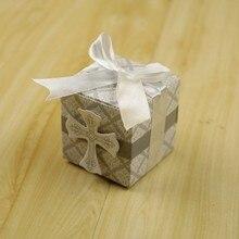 Boîtes à bonbons en forme dange, 10 pièces, boîte-cadeau pour fête prénatale, baptême, anniversaire, première Communion, décoration de pâques