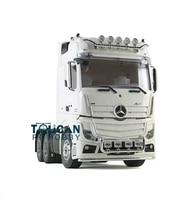 hercules model car 114 rc 3axles highline diy bz tractor truck trailer kit th01071 smt2