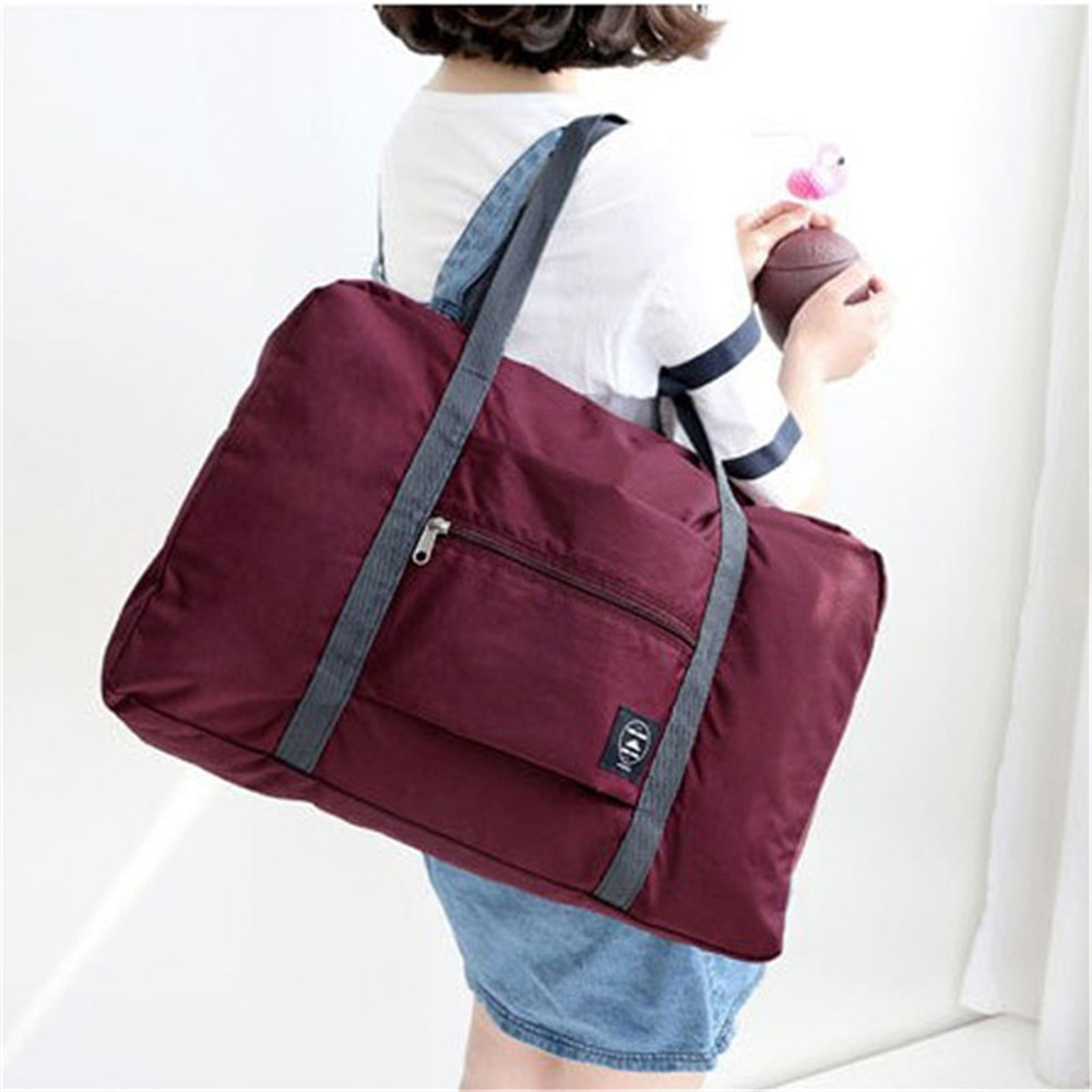 Hot Women Travel Luggage Bag Big Size Multi-purpose Portable Folding Carry-on Duffle Bag Travel Shoulder Bags For Women 2020