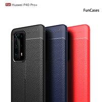 Противоударные Чехлы для мобильных телефонов Huawei P40 Pro Plus + Nova 4 P30 Lite Mate 30 P20 6 SE 5 5i, чехол с рисунком личи, чехол для телефона