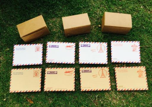 20 pçs  lot papel kraft  branco mini vintage architecturewallet envelope carta retro grande estudante escola coloffice st