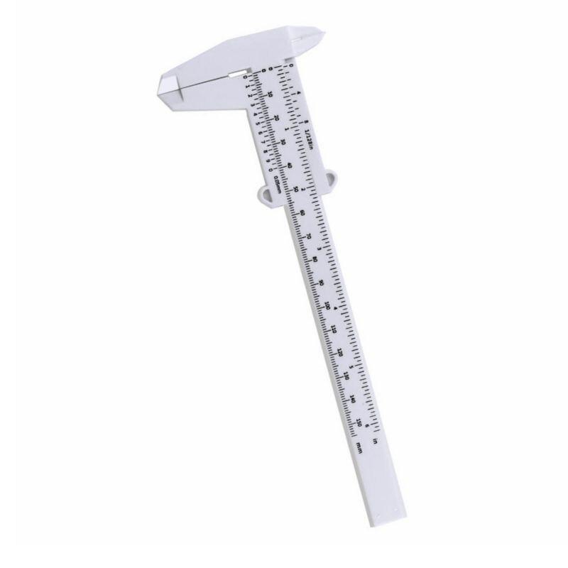 150 мм пластиковая линейка для бровей, измерительный штангенциркуль, нониусный штангенциркуль для татуировок, микроблейдинга, линейка, инст... нониусный штангенциркуль рос