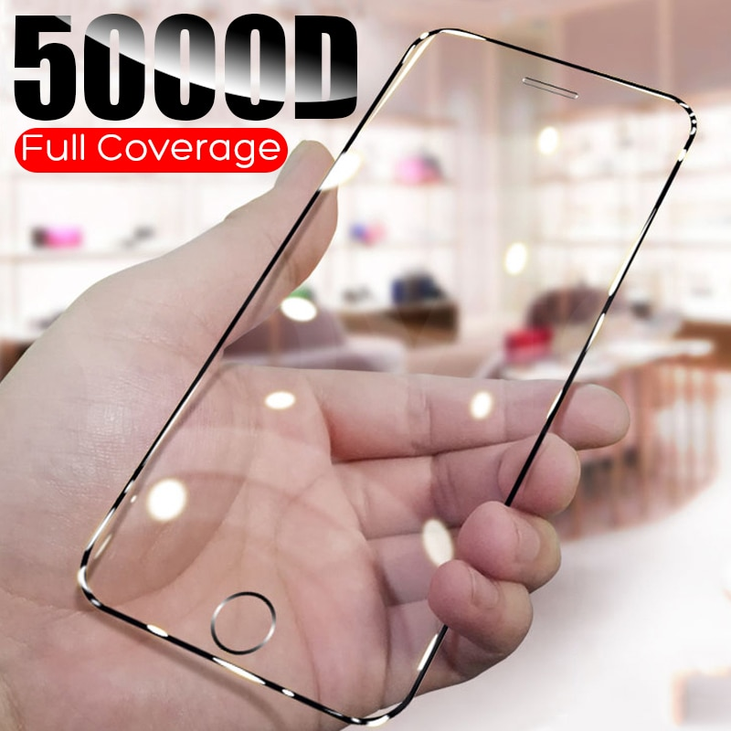 Protectvie Glass on the for iphone 6 6s 7 8 Plus Screen Protector Full Coverage For iphone 11 pro ma