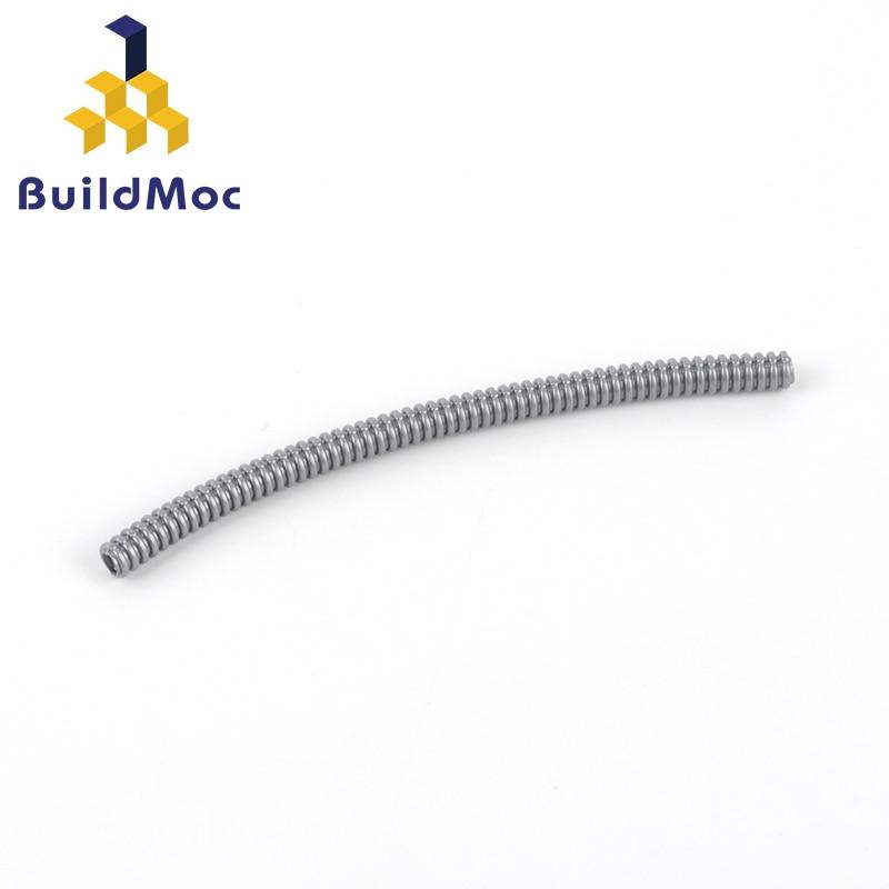 BuildMOC kompatybilny montuje cząstki 78c13 104mm technologia wąż (średnica 4.8mm) Building Blocks część DIY zabawki edukacyjne