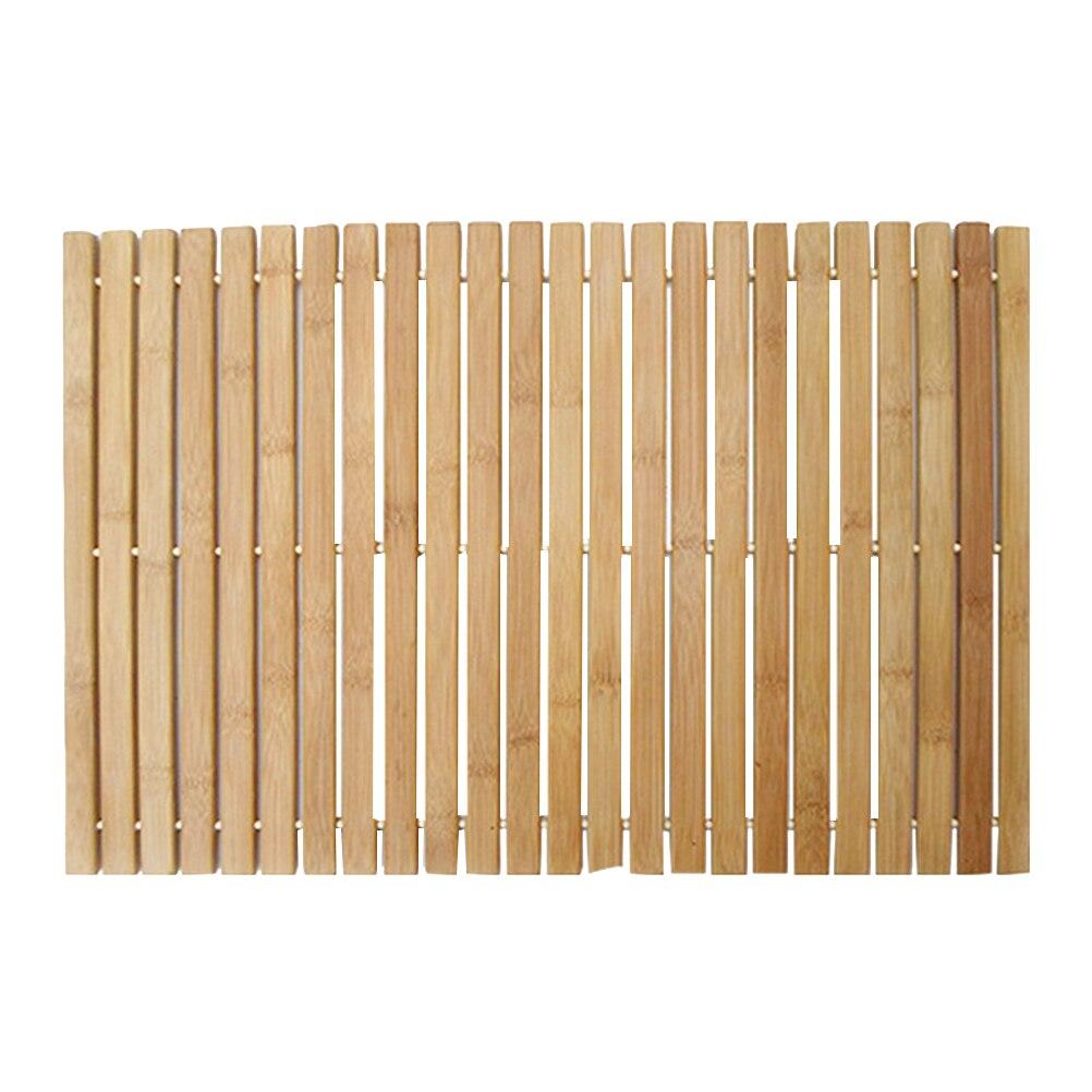 1 шт., деревянный коврик в полоску для ванной, коврик для душа, Нескользящие коврики, Противоскользящий коврик для дома, ванной комнаты (цвет дерева) для дома