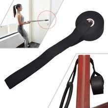 Dropshipping all'ingrosso della fibbia della porta della corda di tiro dell'ancora della porta della cinghia di addestramento di esercizio di forma fisica domestica di vendita
