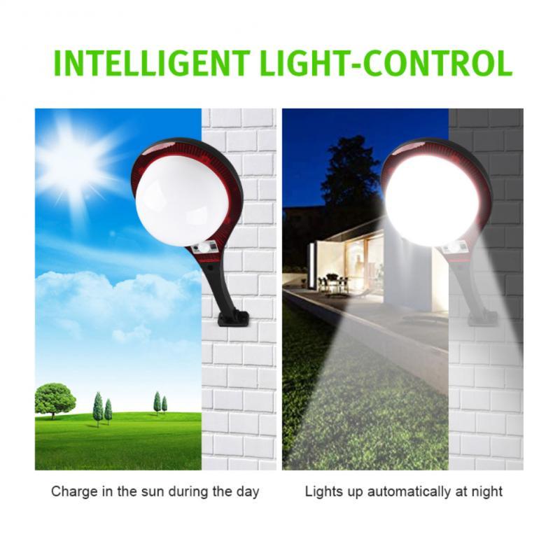 Уличные фонари на солнечной батарее, водонепроницаемые светодиодсветодиодный лампы для освещения дорожек и двора, для сада, внутреннего дв...