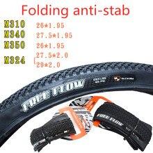Pneu pliant vtt 26 / 27.5x1.95 & 27.5 / 29x2.0 VTT Anti-crevaison pneu pliant résistant à lusure 26 27.5 29 pneu de vélo