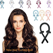 New Fashion Heatless Curling Rod Headband Lazy Curler Set Make Hair Soft And Shiny Hairstyle Tools N