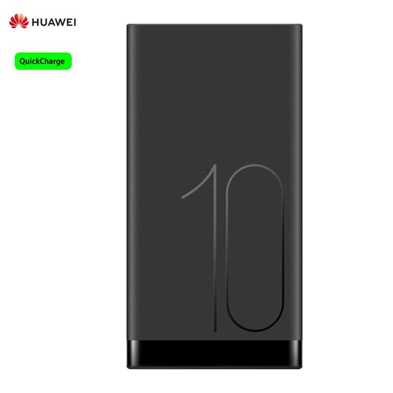 Huawei 10000mAh QuickCharge Power Bank de dos vías de carga rápida Max 18W para Smartphones con Cable 5A