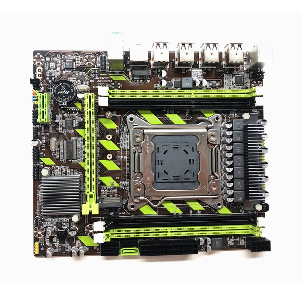 Материнская плата X79G LGA 2011 SATA 3,0 для компьютера Xeon E5 core i7, поддерживает память DDR3 RECC E5 2689CPU
