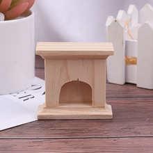 1:12 миниатюрный Камин ручной работы, кукольный домик, Декор, мебель, аксессуары, наборы, мини-кукла, игрушечные дома подарок для детей