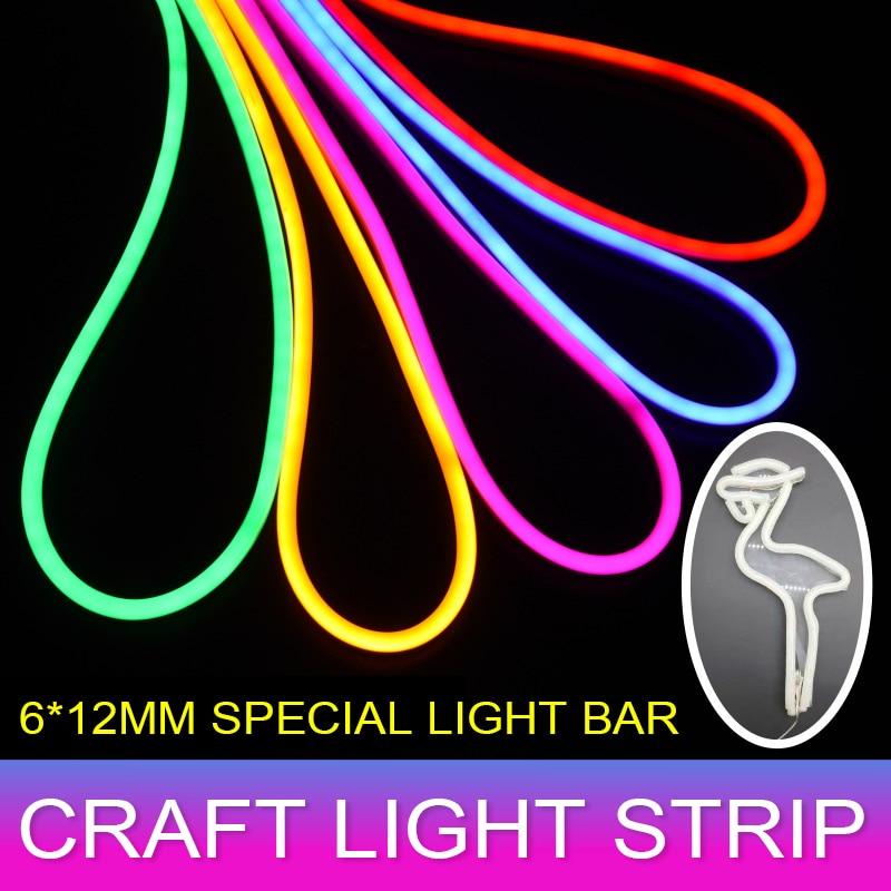 1/2/3/4/5M Round LED Flexible Strip Light DC 12V SMD 2835 LED Neon Flex Tube Outdoor Waterproof Rope String Lamp 12W Xmas Decor