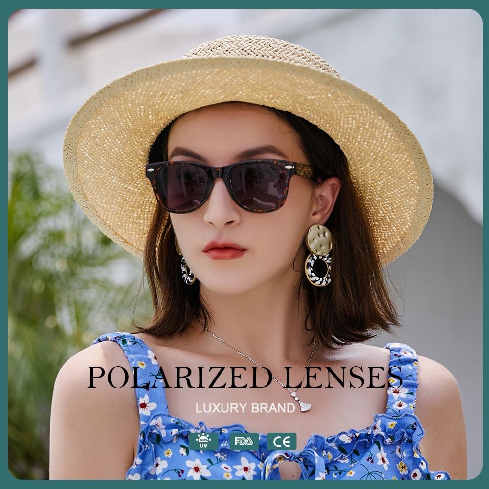Woman Sunglasses Luxury 2021 Polarized Fashion Square Oversized Sunglasses Lady Brand Designer Frame