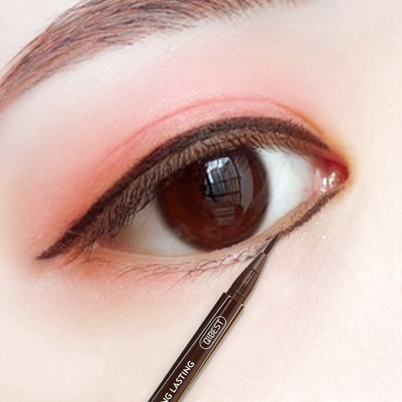 Eyeliner Pencil Waterproof Brown Yellow Blue Color Liquid Eye Liner Makeup Long Lasting Smooth Draw Eyes Make Up