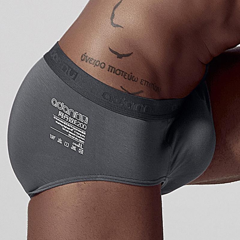 Sexy Jockstrap Gay hommes sous-vêtements slips Modal confortable Slip Biniki hommes Lingerie Cueca Slip hommes Cueca mâle culottes AD307