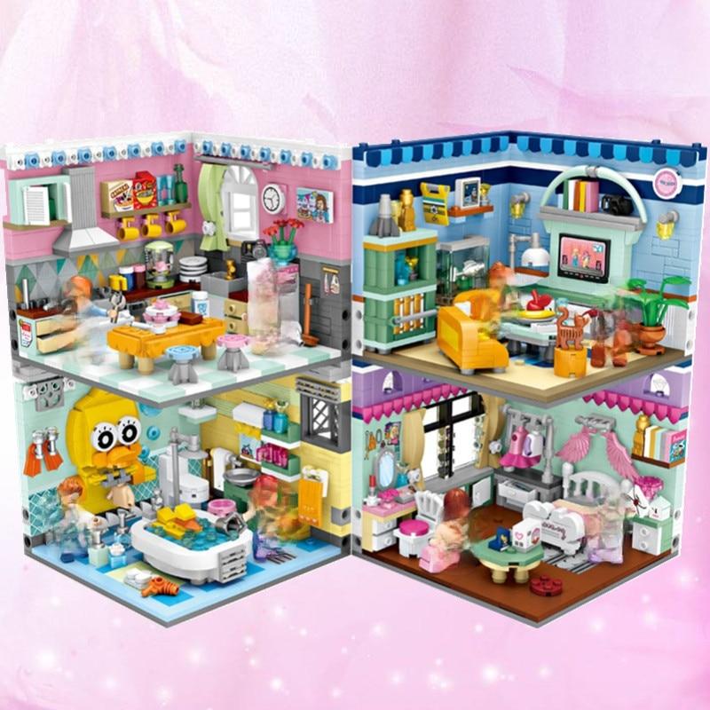 Строительные блоки LOZ игрушки алмазные всемирно известный Архитектура цифры блоки кирпичи игрушки развивающие модели игрушки Конструктор...