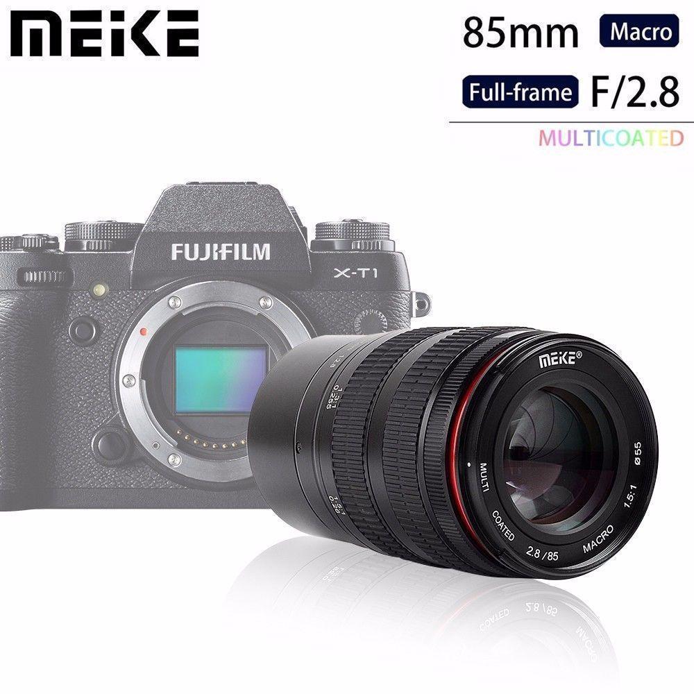 كاميرا Meike MK85mm f/2.8 عدسة ماكرو للتركيز اليدوي لـ Olympus Micro 4/3 EM10 Mark ii/EM5/EM1/EP5/EPL3 و باناسونيك Lumix G7