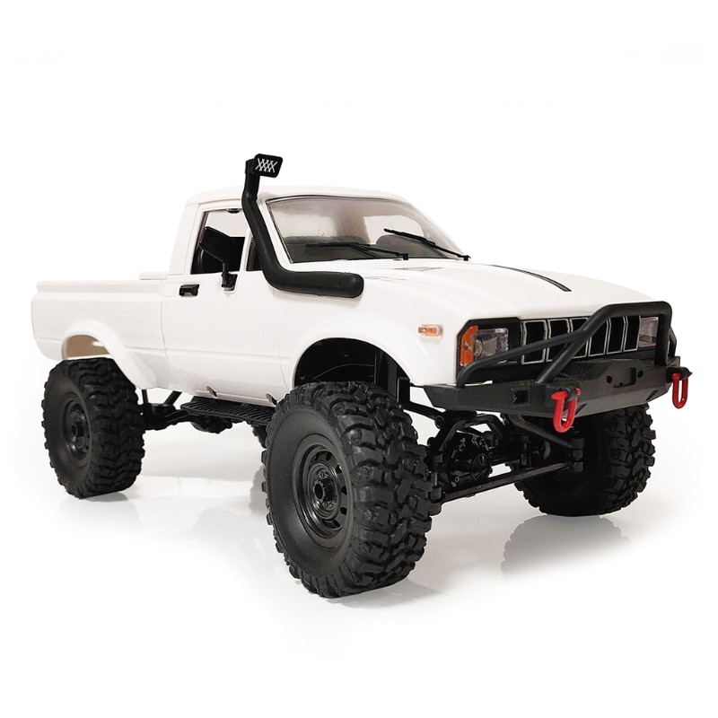 Children Full Scale Four-wheel Drive Pickup RC Crawler Car Model Toy DIY Assembly Parts for WPL C24-1 1/16 RC Car enlarge