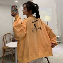 Hong Kong Style Chic Best-Selling Sweatshirt Women's Fashion Ins Spring and Autumn Loose Korean Styl