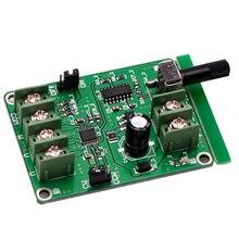 Contrôleur de carte de conducteur sans brosse de cc de 1Pc 5V-12V pour le fil du moteur 3/4 de disque dur