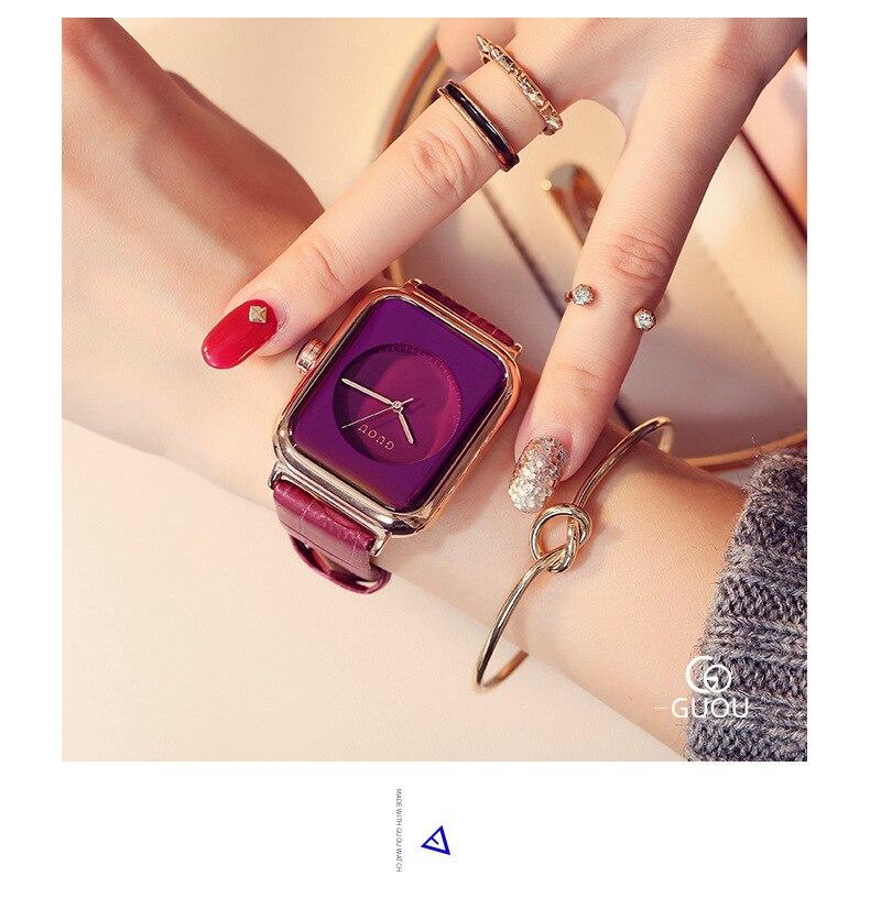 femininos topo marca de luxo moda retangular