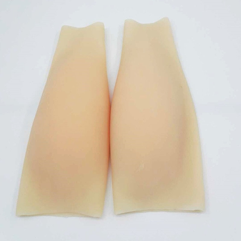 1 Piece 150g Realistic Silicone Beautiful Legs Arms Sets Leg Enhance Covering Limbs Scars Posture Corrector Pad Butt Enhancer